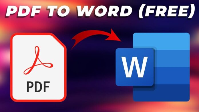 Convert Your PDF To Word